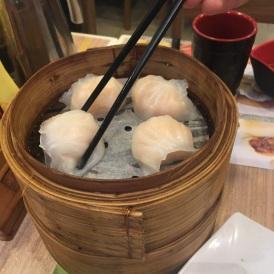 Har gow at Tim Ho Wan